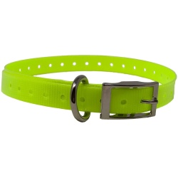 "the buzzards roost replacement collar strap 34 neon yellow 34 x 24 250x250 - The Buzzard's Roost Replacement Collar Strap 3/4"" Neon Yellow 3/4"" x 24"""