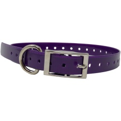 "the buzzards roost replacement collar strap 34 purple 34 x 24 250x250 - The Buzzard's Roost Replacement Collar Strap 3/4"" Purple 3/4"" x 24"""