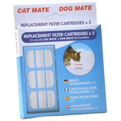 20618 250x250 - Cat Mate Replacement Filter Cartridge for Pet Fountain (2 Count)