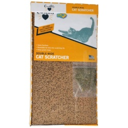 """OurPets Cosmic Catnip Cosmic Double Wide Cardboard Scratching Post (20""""L x 9.5""""W x 2""""H)"""