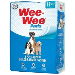 """Four Paws Wee Wee Pads Original (14 Pack [22"""" Long x 23"""" Wide])"""
