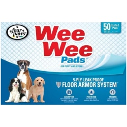 """Four Paws Wee Wee Pads Original (50 Pack [22"""" Long x 23"""" Wide])"""