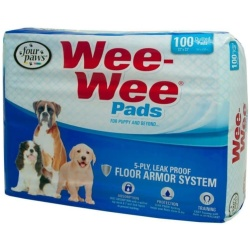 """Four Paws Wee Wee Pads Original (100 Pack [22"""" Long x 23"""" Wide])"""