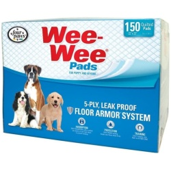 """Four Paws Wee Wee Pads Original (150 Pack - Box [22"""" Long x 23"""" Wide])"""