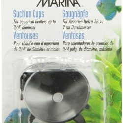 Marina Heater Suction Cups - Black (Heater Suction Cups [2 Pack])