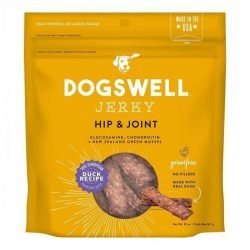 85752 250x250 - Dogswell Jerky Hip & Joint Dog Treats - Duck (20 oz)