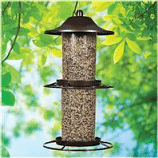 panorama wild bird feeder rustic brown 45 pound 1 - Panorama Wild Bird Feeder - Rustic Brown - 4.5 Pound