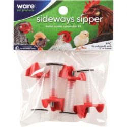 ware sideways sipper nipples with extension tubes redclear 4 pack 250x250 - Ware -Sideways Sipper Nipples With Extension Tubes -Red/Clear -4 Pack