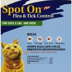 95 original 250x250 - Zodiac Spot on Plus Flea & Tick Control for Cats & Kittens (Cats under 5 lbs [4 Pack])