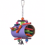 xctmpjs06nS - Happy Beaks Foraging Bird Toy - 10 X 6 Inch