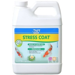 21029 250x250 - PondCare Stress Coat Plus Fish & Tap Water Conditioner for Ponds (32 oz [Treats 3,840 Gallons])