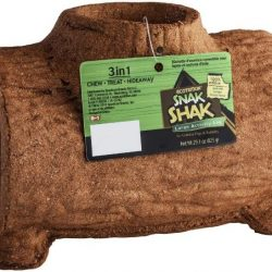 Ecotrition 3 in 1 Edible Snack Shak Activity Log (Large Log [Guinea Pig & Rabbit])