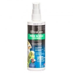 Ultra Care Mite & Lice Bird Spray (8 oz Pump Spray)