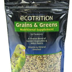 Ecotrition Grains & Greens Nutritional Supplement for Parakeets (8 oz)