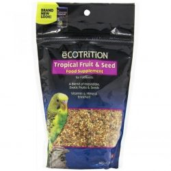 Ecotrition Tropical Fruit & Seeds for Parakeets (Pouch - 8 oz)