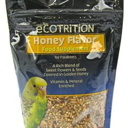 Ecotrition Honey Flavor Variety Blend for Parakeets (8 oz)