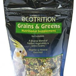 Ecotrition Cockatiel Grains & Greens (8 oz)