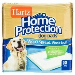 Hartz Home Protection Dog Training Pads (50 Pads)
