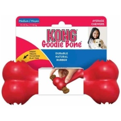 "28958 250x250 - Kong Goodie Bone - Red (Medium [7""L x 2.75""W x 1.5""H])"