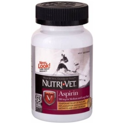 34682 250x250 - Nutri-Vet Aspirin for Dogs (Large Dogs over 50 lbs - 75 Count [300 mg])