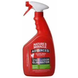 Nature's Miracle Advanced Stain & Odor Remover (32 oz Pump Spray Bottle)