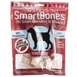 """SmartBones Chicken & Vegetable Dog Chews (Large - 6.5"""" Long - Dogs over 40 Lbs [3 Pack])"""