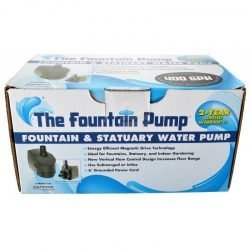 42428 250x250 - Danner Fountain Pump Magnetic Drive Submersible Pump (SP-400 [400 GPH] with 6' Cord)