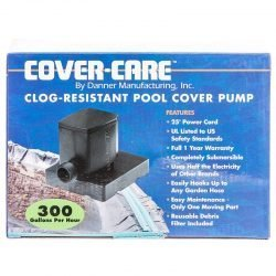 42569 250x250 - Danner Cover-Care Clog -Resistant Pool Cover Pump (300 GPH with 25' Cord)