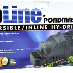 Pondmaster ProLine Submersible/Inline Hy-Drive Pump (1,600 GPH with 20' Cord)
