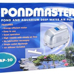 Pondmaster Pond & Aquarium Deep Water Air Pump (AP 20 [2,500 Gallons - 1,700 Cubic Inches per Minute])