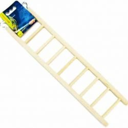 "46160 250x250 - Living World Wood Ladders for Bird Cages (15"" High - 9 Step Ladder)"