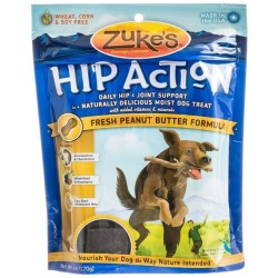 47621 250x250 - Zukes Hip Action Dog Treats - Peanut Butter & Oats Recipe (6 oz)