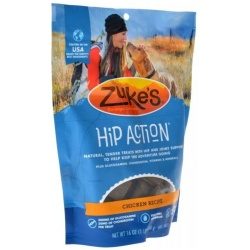 47630 250x250 - Zukes Hip Action Hip & Joint Supplement Dog Treat - Roasted Chicken Recipe (1 lb)