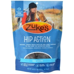 47633 250x250 - Zukes Hip Action Hip & Joint Supplement Dog Treat - Roasted Beef Recipe (1 lb)