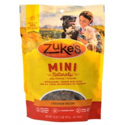 47654 250x250 - Zukes Mini Naturals Dog Treat - Roasted Chicken Recipe (1 lb)