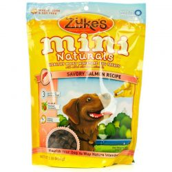 47660 250x250 - Zukes Mini Naturals Dog Treat - Savory Salmon Recipe (1 lb)