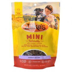 47663 250x250 - Zukes Mini Naturals Dog Treat - Wild Rabbit Recipe (1 lb)