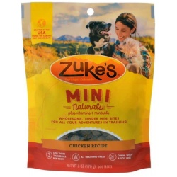 47666 250x250 - Zukes Mini Naturals Dog Treat - Roasted Chicken Recipe (6 oz)