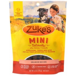 47672 250x250 - Zukes Mini Naturals Dog Treat - Savory Salmon Recipe (6 oz)