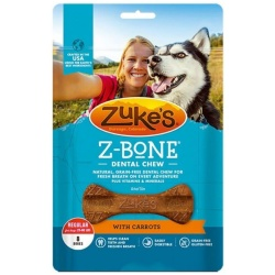 47780 250x250 - Zukes Z-Bones Dental Chews - Clean Carrot Crisp (Regular [8 Pack - 12 oz])