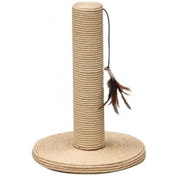 "51586 250x250 - Pet Pals Paper Scratching Post with Feather Toy (15"" Tall x 10"" Diameter)"
