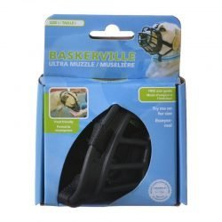 """59684 250x250 - Baskerville Ultra Muzzle for Dogs (Size 1 - Dogs 10-15 lbs - [Nose Circumference 8.6""""])"""