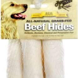 """Rawhide Brand Eco Friendly Beef Hide Natural Roll (4"""" Rolls [5 Pack])"""