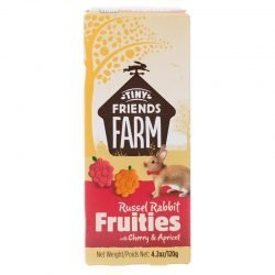 Tiny Friends Farm Russel Rabbit Fruities with Cherry & Apricot (4.2 oz)