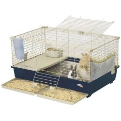 """66660 250x250 - Marchioro Tommy Deluxe Guinea Pig & Rabbit Cage Kit (Tommy 82 Kit Deluxe [32.25""""L x 20""""W x 16.5""""H])"""