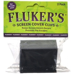 Flukers Screen Cover Clips (Premium [All Tank Sizes])