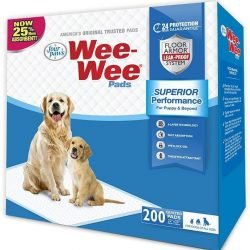 """Four Paws Wee Wee Pads Original (200 Pack - Box [22"""" Long x 23"""" Wide])"""