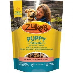 70446 250x250 - Zukes Puppy Naturals Dog Treats - Salmon & Chickpea Recipe (5 oz)