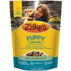 70452 250x250 - Zukes Puppy Naturals Dog Treats - Lamb & Chickpea Recipe (5 oz)