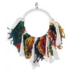 "72124 250x250 - Living World Junglewood Rope Dream Catcher Bird Toy (Jumbo - 18"" High - [Assorted Colors])"